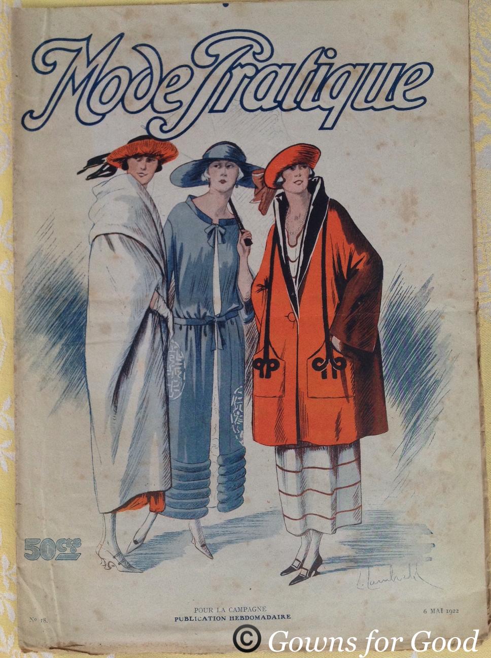 1922 Mode Pratique wedding dress