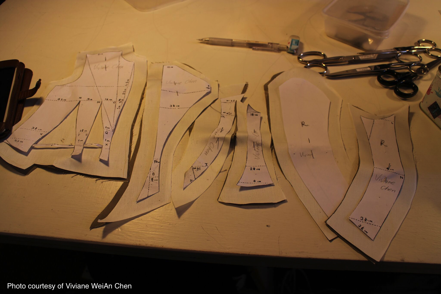 1880s bodice and skirt course