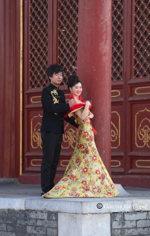 2014 Chinese modern wedding dress