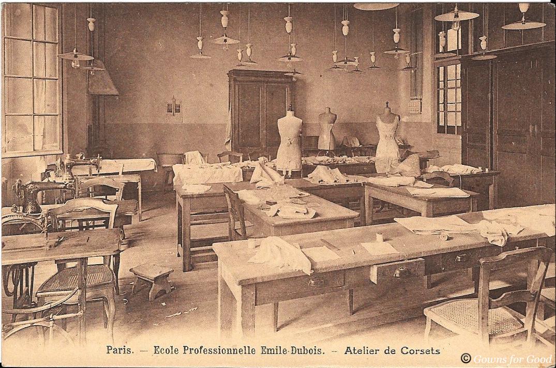 Sewing school in Paris