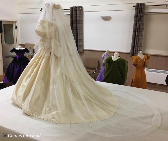 """1980s """"Diana's style"""" wedding dress"""