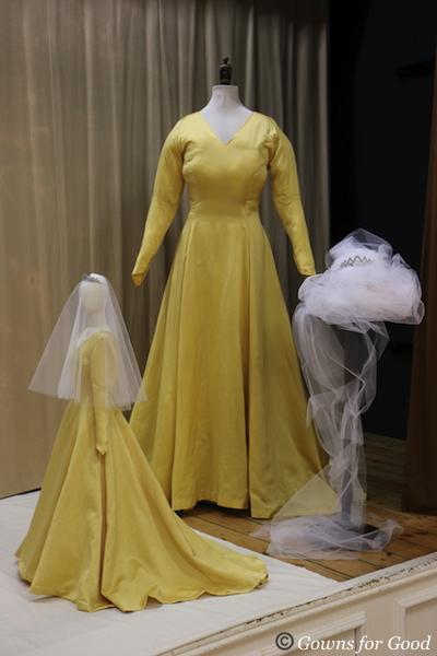 1963 Margaret's wedding gown