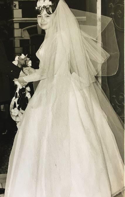 1964 Rosemary's wedding dress