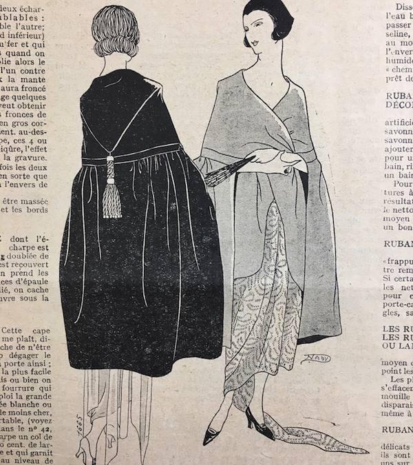 1921 Mode Pratique cape