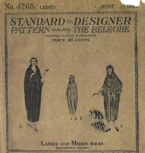 1923 cocoon coat