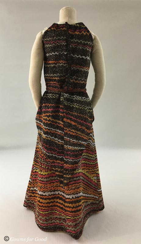 1975 Simplicity 7270 skirt and tunic pattern lurex fabric 1970s  jupe et tunique patron années 70 tissu lurex