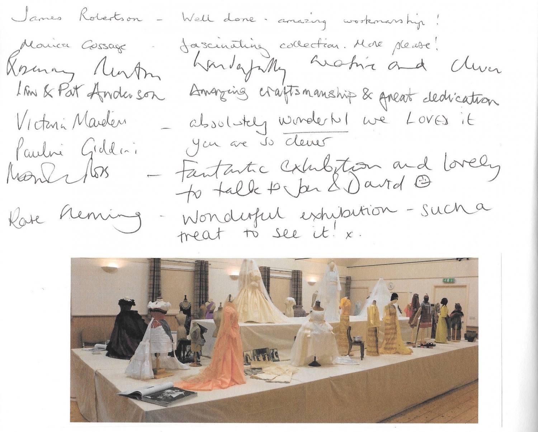 Diminutive fashion exhibition Laughton fundraising event exposition mode miniature association