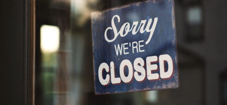 Church Buildings in the CofE closed to prevent spread of the Coronavirus