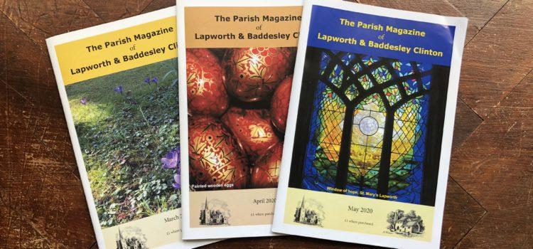 Update on the Parish Magazine