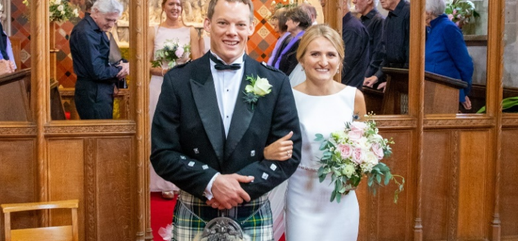 Short Notice Wedding at St Mary's Lapworth