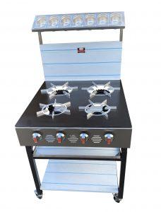 4 burner cooker 2