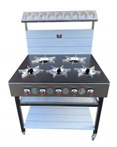 5 burner cooker 2
