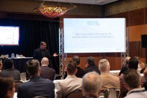 Francis Bissonnette conférencier au Congrès de la CMMTQ - Batimatech - public