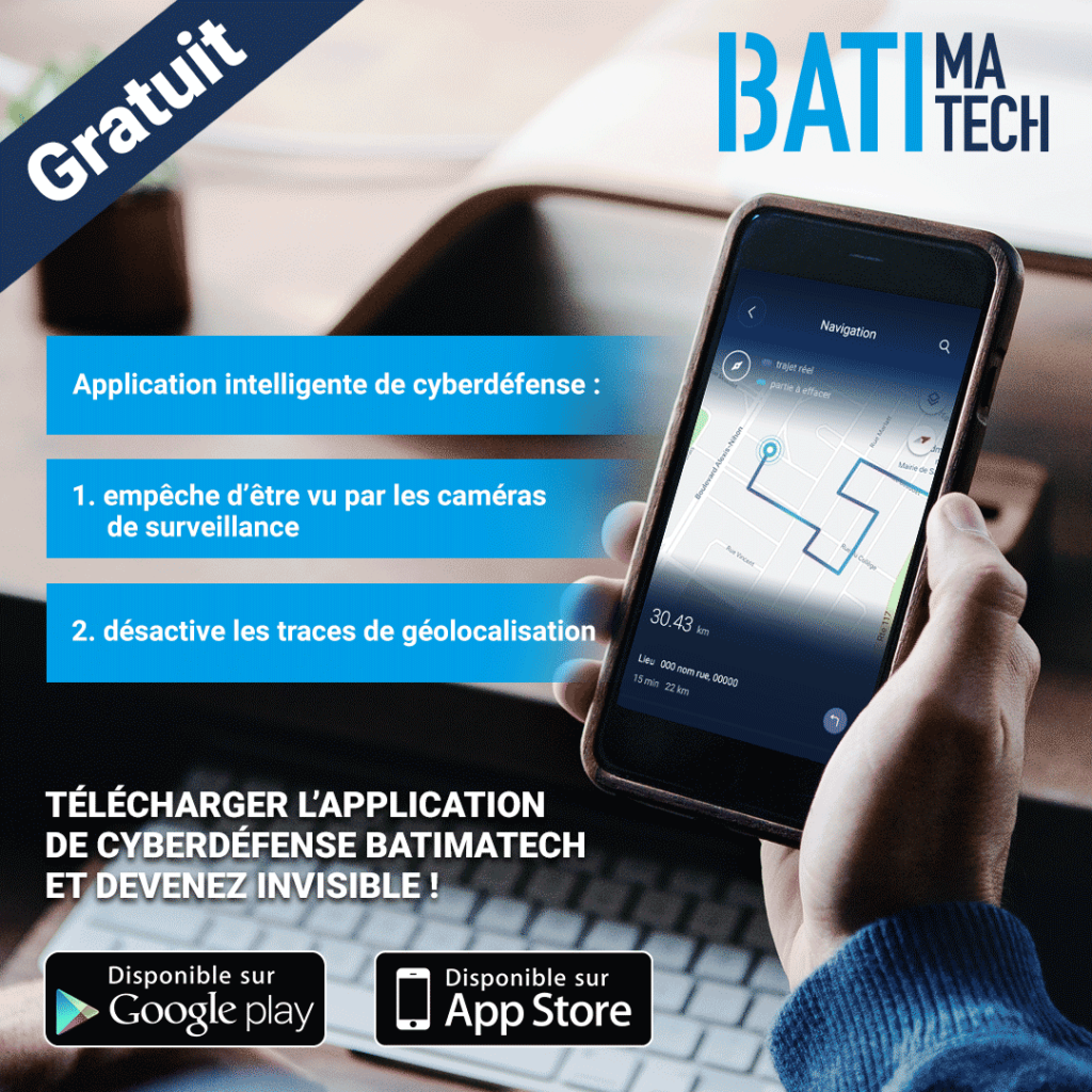 Application Batimatech cybersecurite cyberdefense - géolocalisation visuel-appli-2