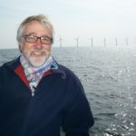 Photo of Hubert Schmitz visiting wind farm outside Copenhagen 2012