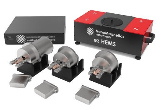 compact hall effect measurement system