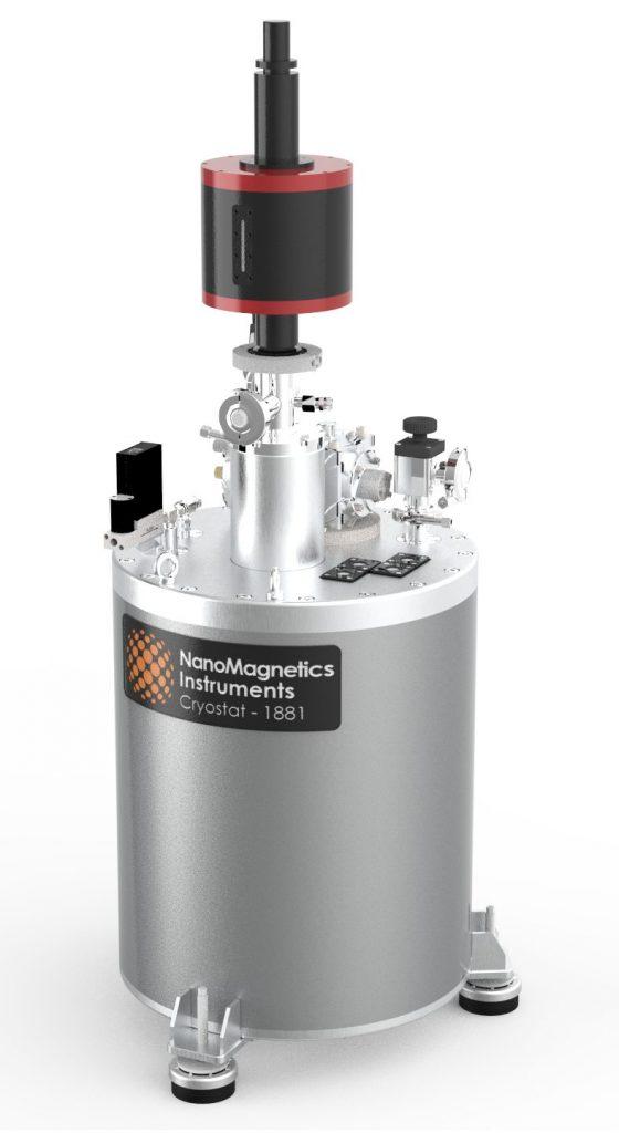 Vibrating Sample Magnetometer with Cryostat