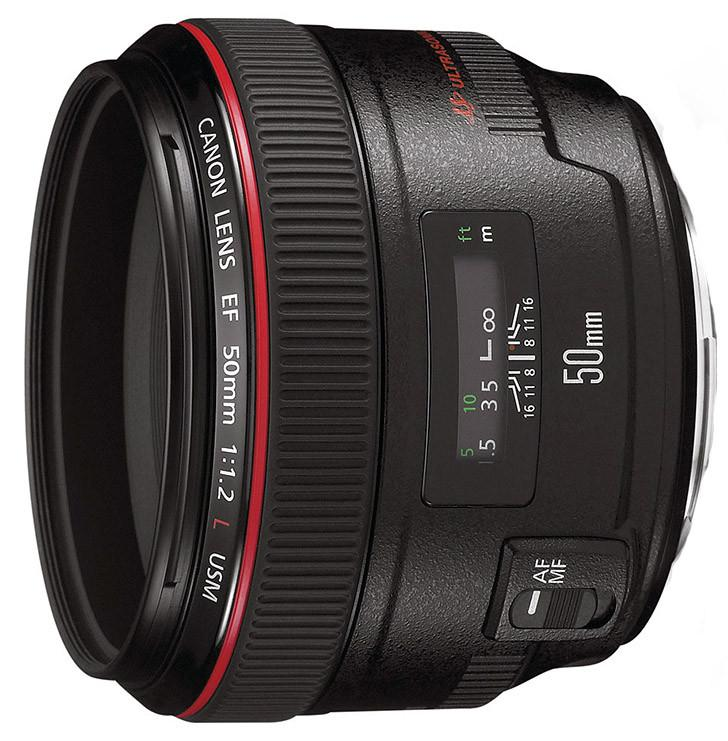 Canon EF 50mm f1.2L USM - Hire Now at thekithirecompany.co.uk