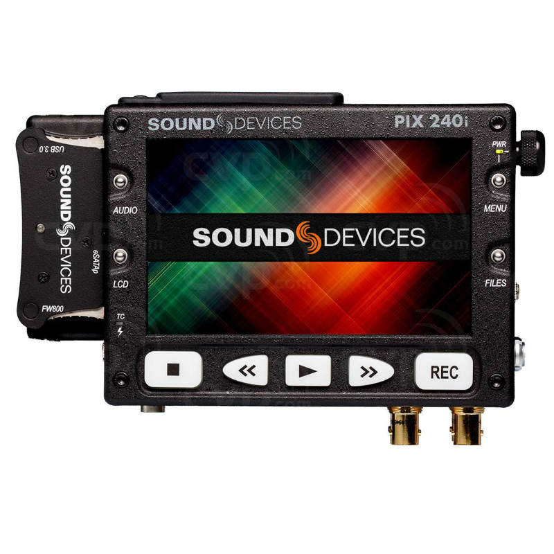 The Sound Devices PIX 240i Portable Video Recorder and Monitor For Hire