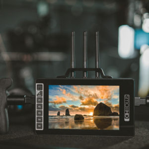 SmallHD 703 Ultra Bright Wireless Directors Monitor On Set For Hire