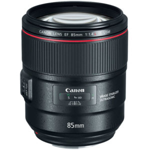 Canon 85mm Prime EF L Series Lens For Hire