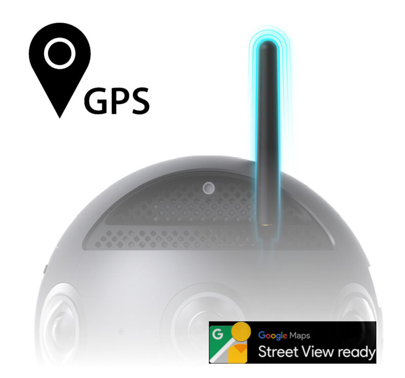 Insta 360 Pro 2 for hire gps
