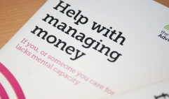 Welfare and money advice quote image