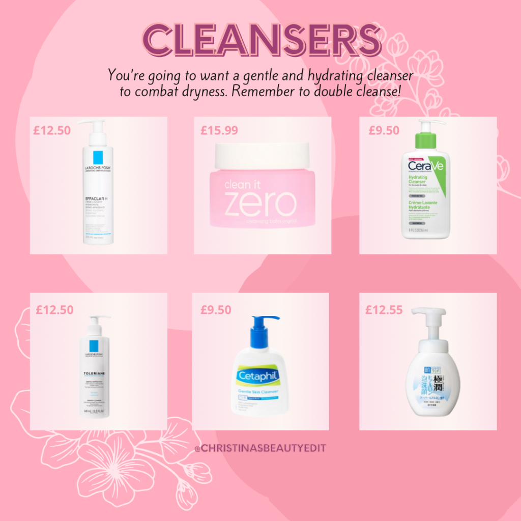 Cleansers for when you're on accutane