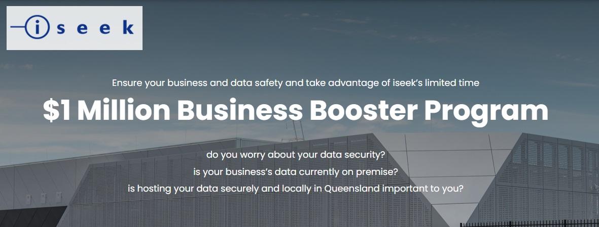 $1 Million Business Booster Program – iseek AUS