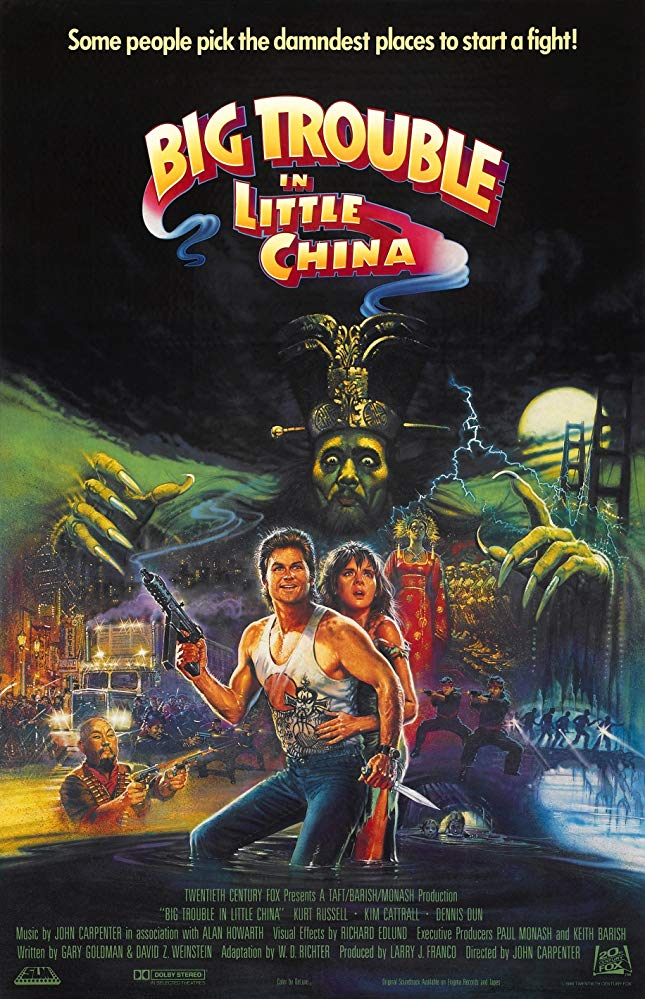 Film Review: BIG TROUBLE IN LITTLE CHINA (1986)