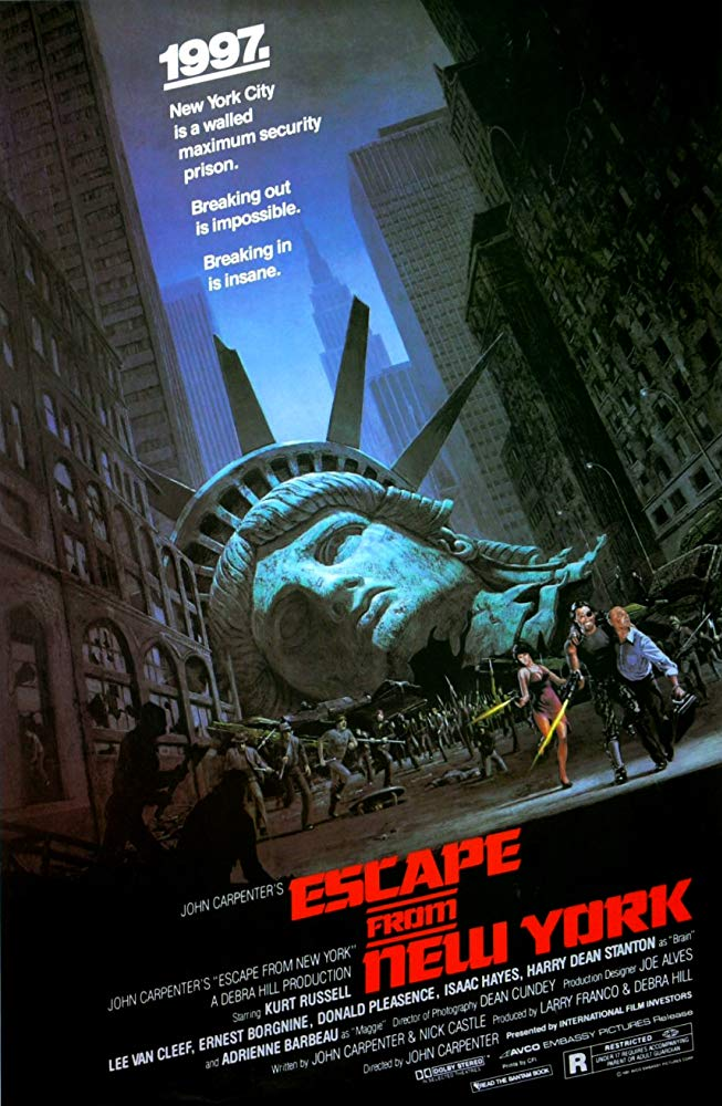 Film Review: ESCAPE FROM NEW YORK (1981)