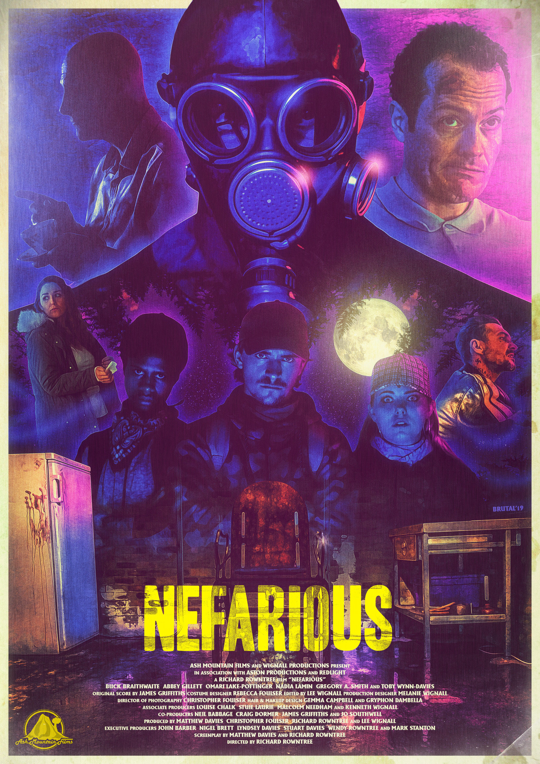 "ASH MOUNTAIN FILMS RELEASES TRAILER FOR ""NEFARIOUS"""