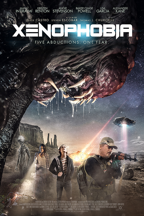 "VISION FILMS WILL TERRIFY AUDIENCES WITH SCI-FI THRILLER ""XENOPHOBIA"""