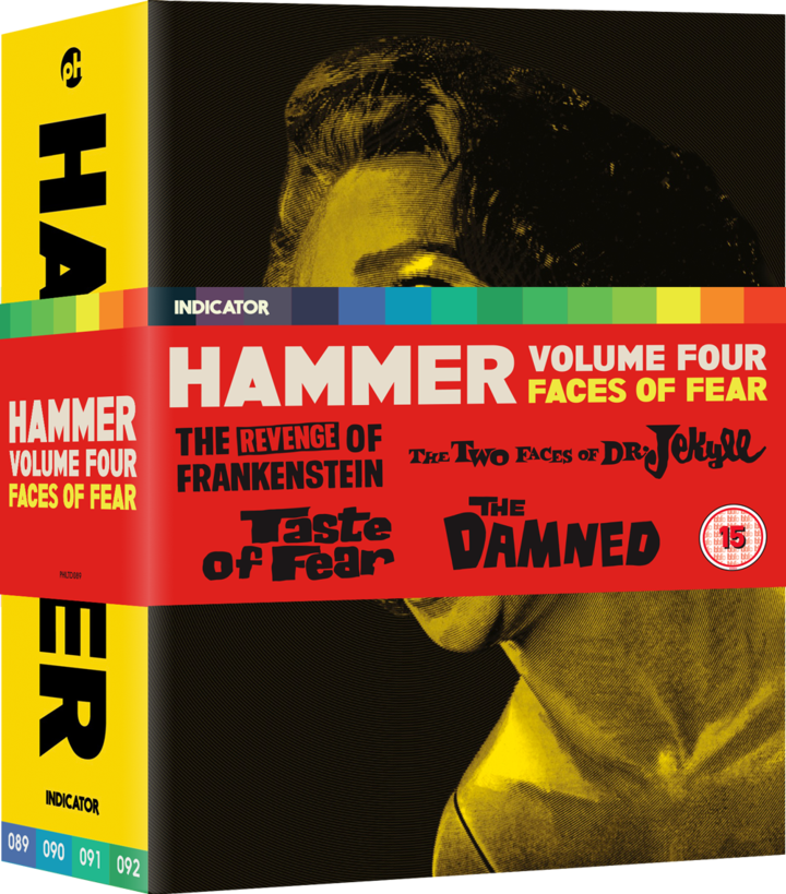 INDICATOR RELEASING FOUR MORE CLASSIC HAMMER FILMS