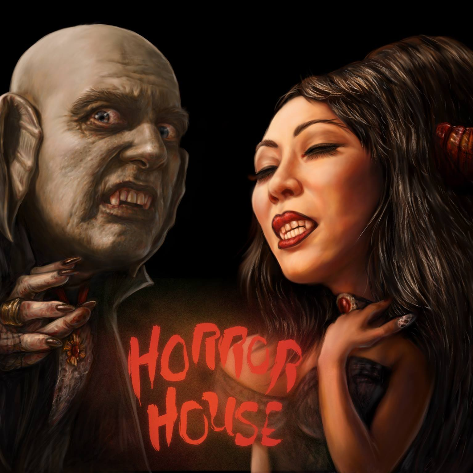 THE VORTEXX WELCOMES YOU TO THE HORROR HOUSE