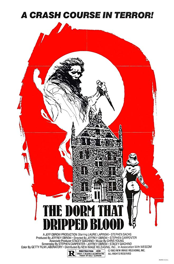 Film Review: THE DORM THAT DRIPPED BLOOD (a.k.a Pranks) (1981)