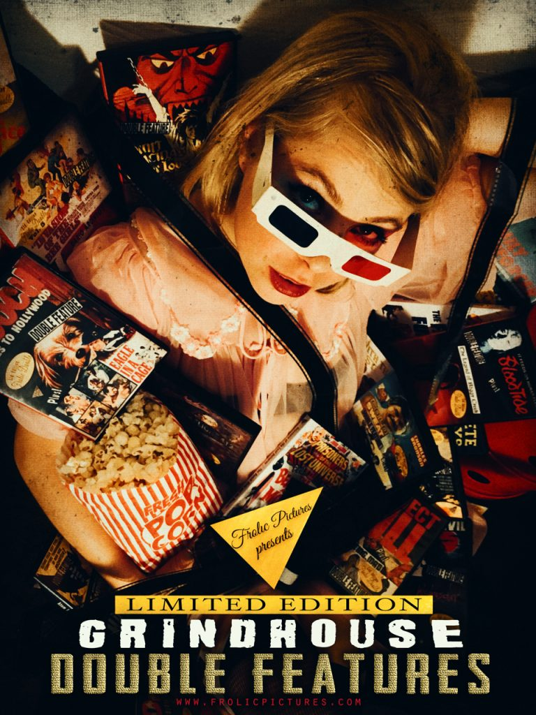 LATEST GRINDHOUSE DOUBLE FEATURE DVDs FROM FROLIC PICTURES