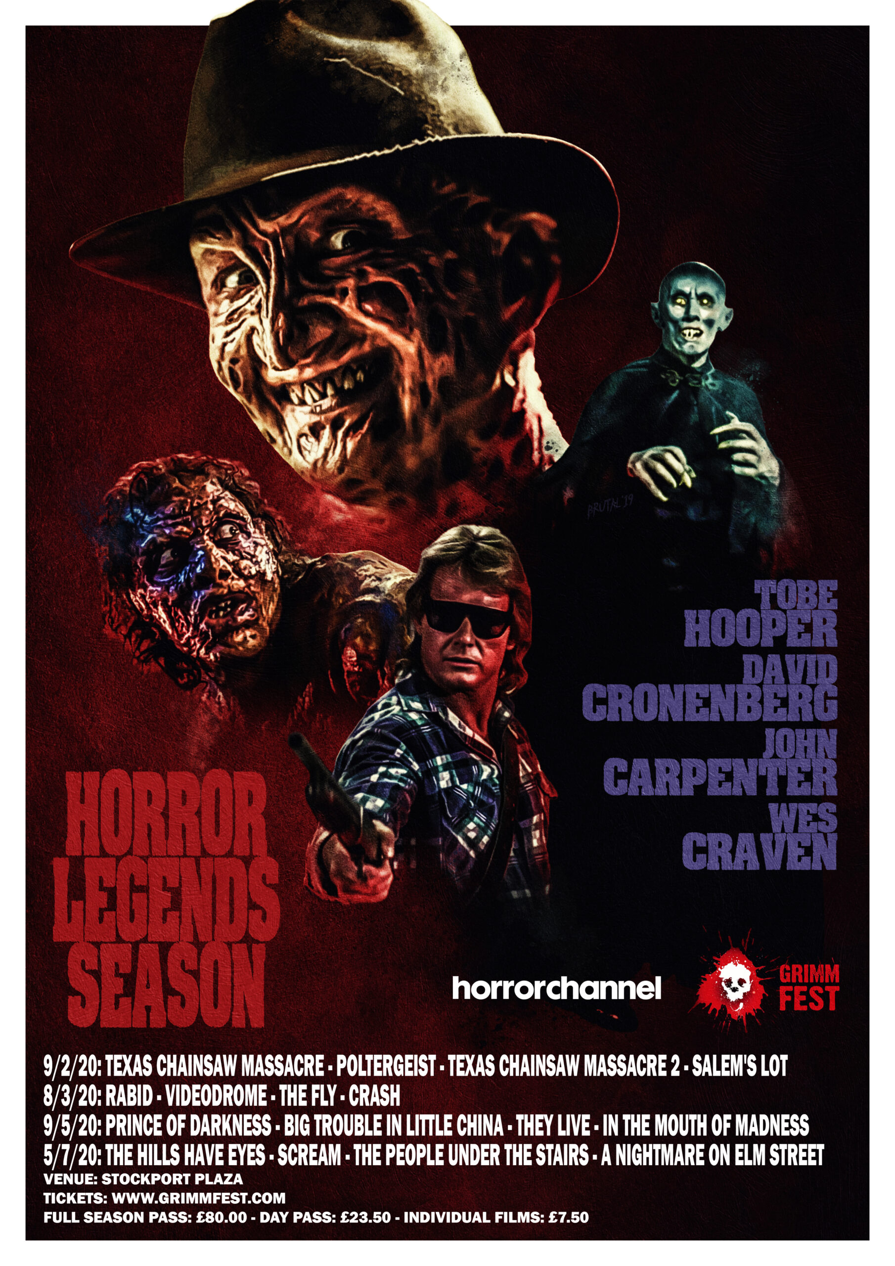 GRIMMFEST SCREEN CLASSIC HORROR MOVIES AS PART OF THEIR HORROR LEGENDS SEASON 2020