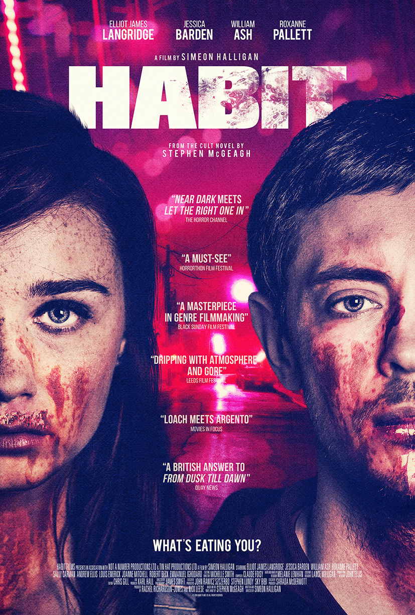 'HABIT' HITS UK HORROR CHANNEL ON VALENTINE'S DAY