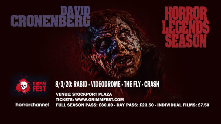 GRIMMFEST & THE HORROR CHANNEL PAY TRIBUTE TO DAVID CRONENBERG
