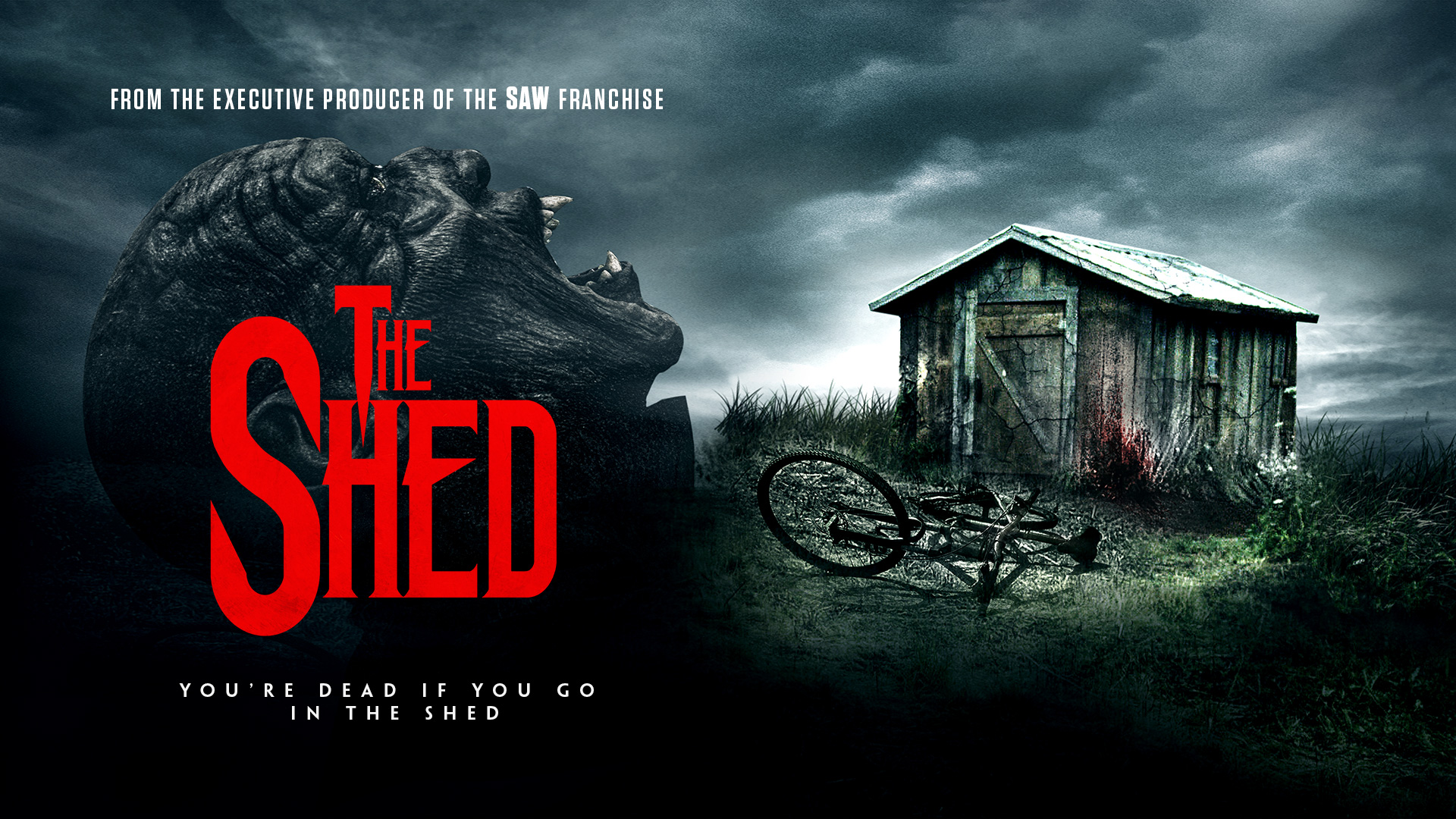 BEWARE THE EVIL WITHIN 'THE SHED'