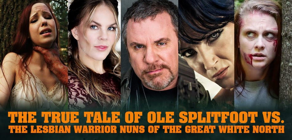 SCREAM QUEEN KAYLEE WILLIAMS & MORE JOIN 'THE TRUE TALE OF OLE SPLITFOOT VS. THE LESBIAN WARRIOR NUNS OF THE GREAT WHITE NORTH'