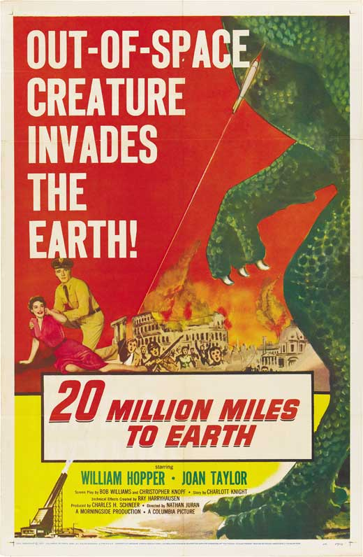 Film Review: 20 MILLION MILES TO EARTH (1957)