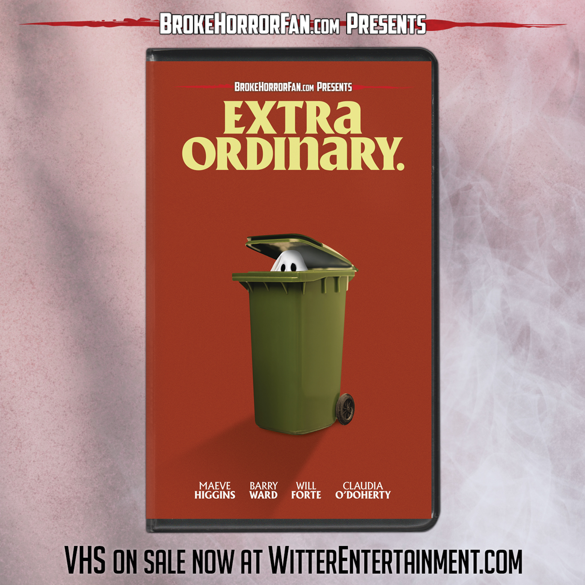 'EXTRA ORDINARY' UNLEASHED ON VHS