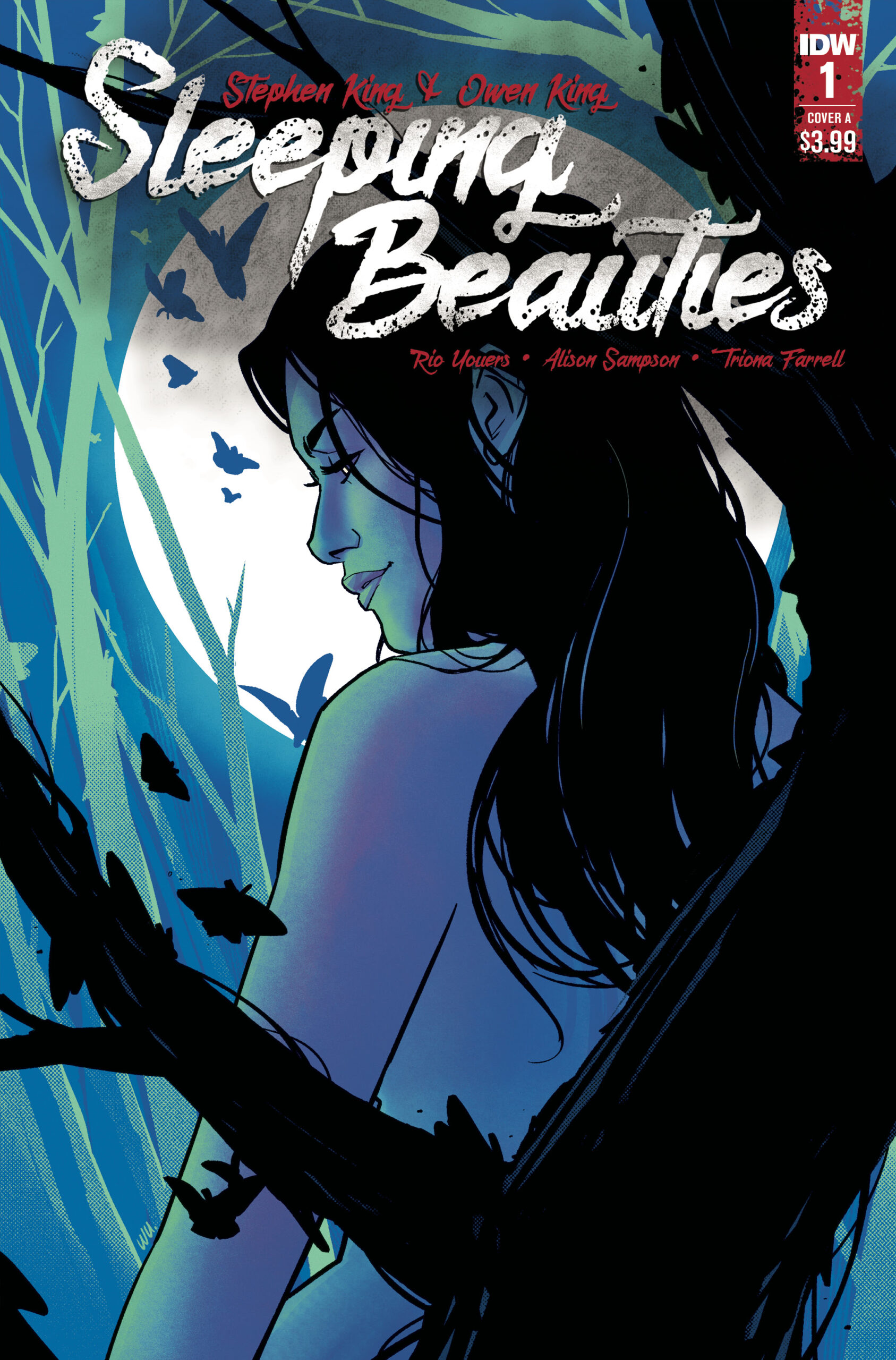 IDW PUBLISHING REVEALS RELEASE DATES FOR FIRST FOUR ISSUES OF 'SLEEPING BEAUTIES' COMIC BOOK SERIES
