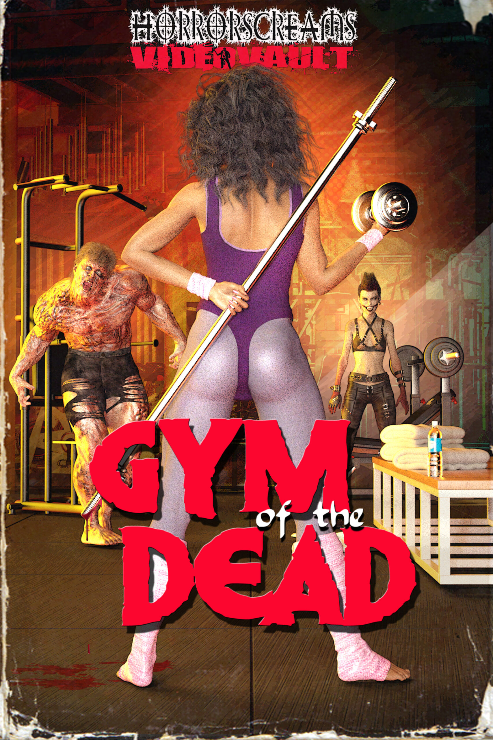 MEGA CAST REVEALED FOR ZOMBIE COMEDY HORROR FILM 'GYM OF THE DEAD'