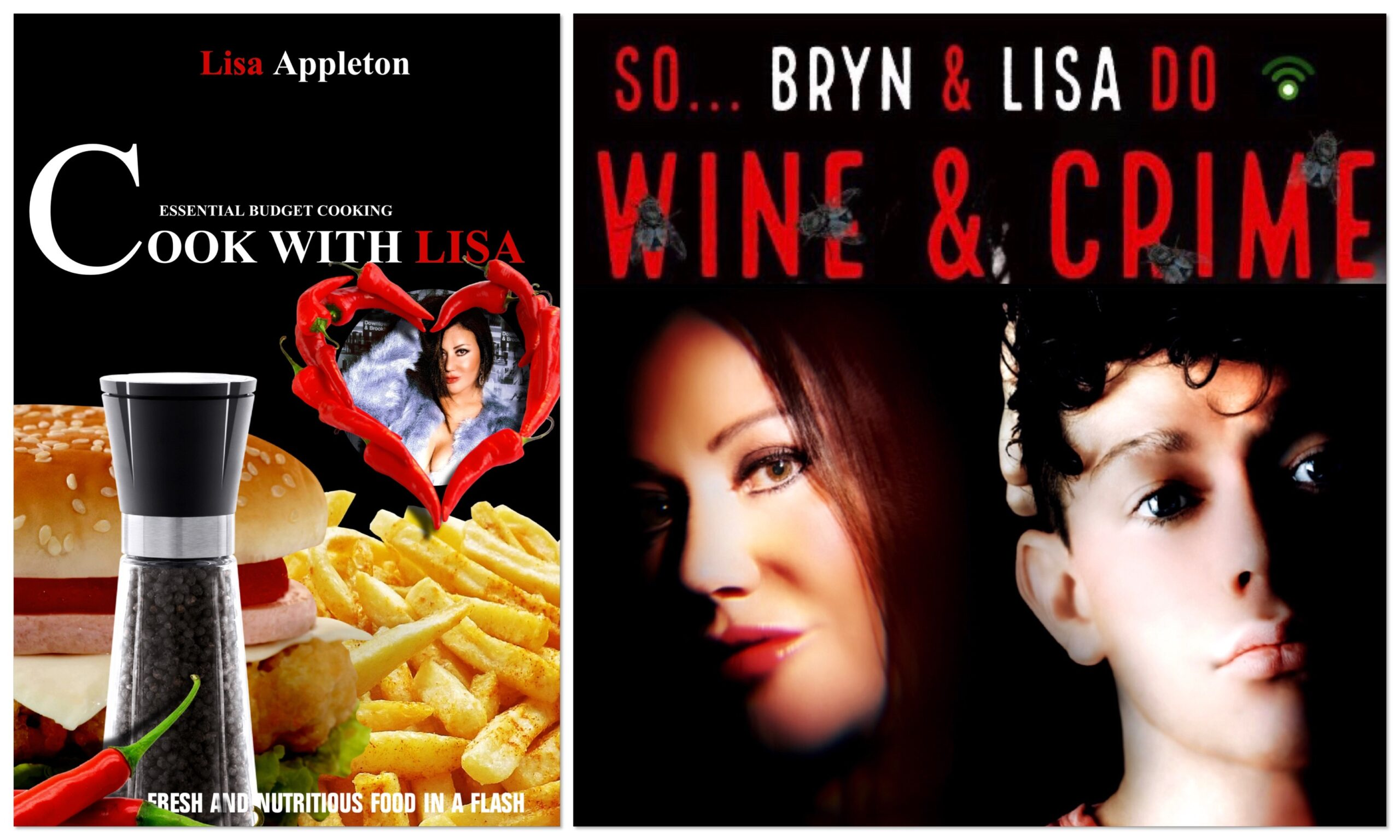 BIG BROTHER 9 REALITY STAR LISA APPLETON TAKES ON FOOD AND MURDER WITH NEW COOKBOOK AND TRUE CRIME PODCAST