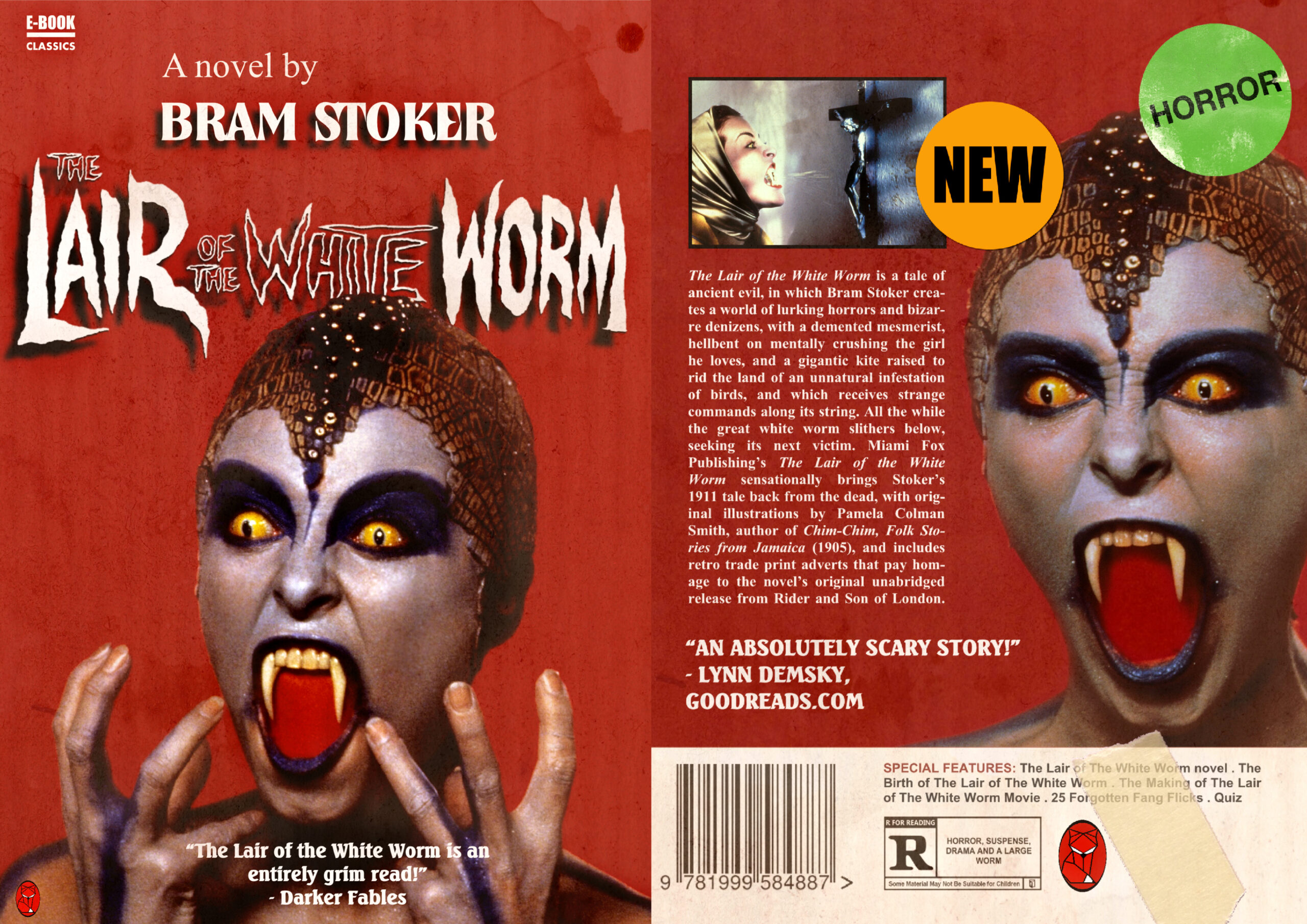 MIAMI FOX PUBLISHING RELEASE A REVISED VERSION OF BRAM STOKER'S 'THE LAIR OF THE WHITE WORM' ON EBOOK