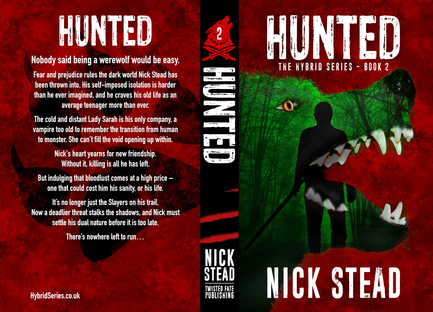 Twisted Fate Publishing to release revised and extended edition of Hunted from horror author Nick Stead