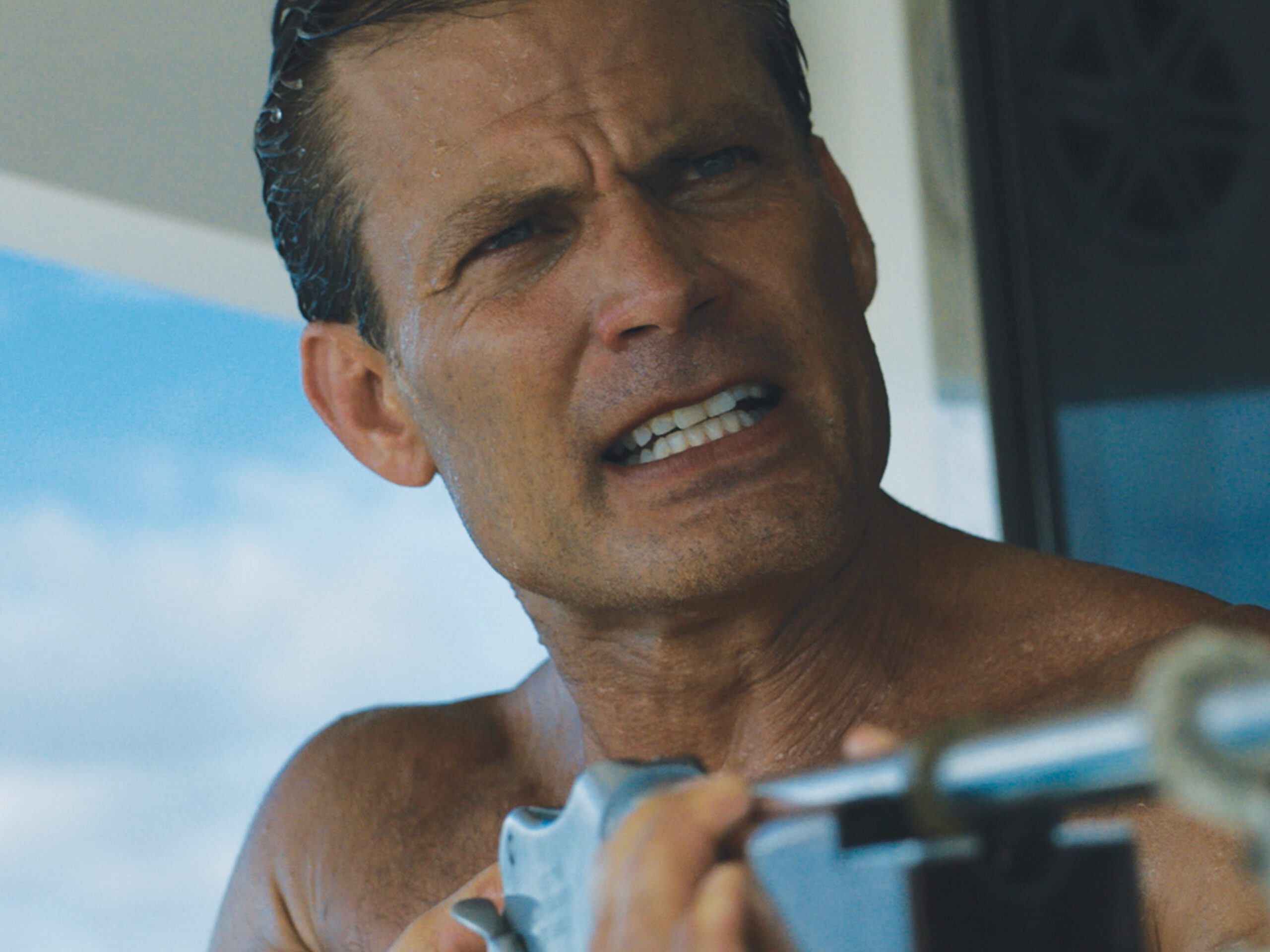 Starship Troopers' CASPER VAN DIEN and The Breakfast Club's JUDD NELSON star in the nautical nail biter DEAD WATER